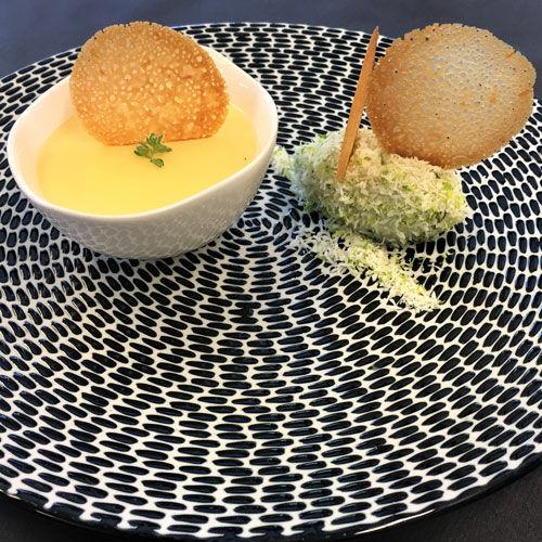 Crème brûlée au citron